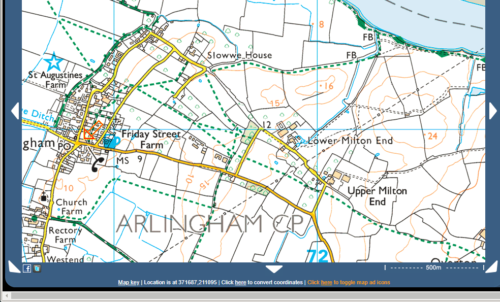 And yet it is on the OS 1:25000 map