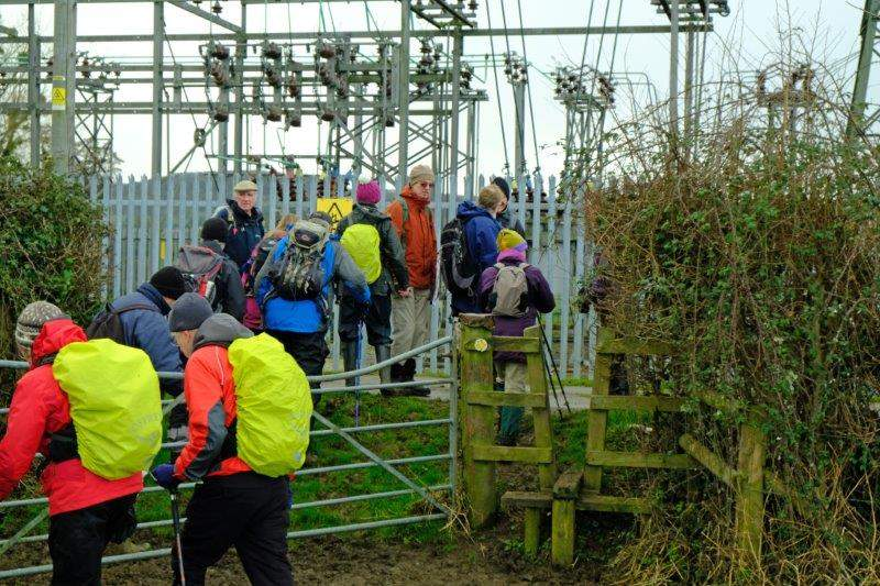Our next point of interest is an electricity sub station