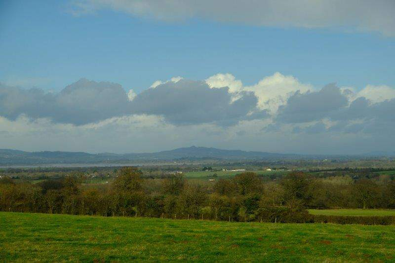 Giving us views over to May Hill
