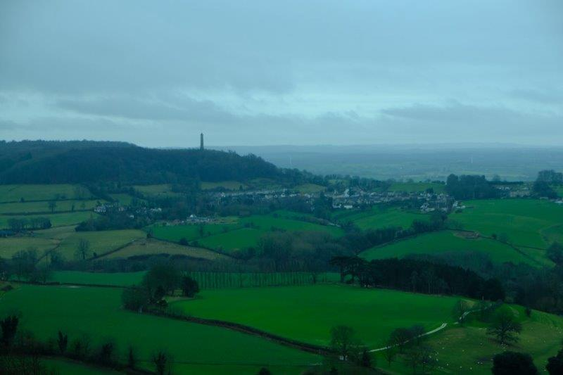 Views of the Tyndale Monument at North Nibley