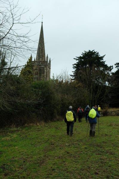 To Stinchcombe church