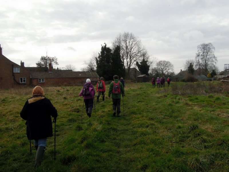 We find the new route near Puckpool Farm