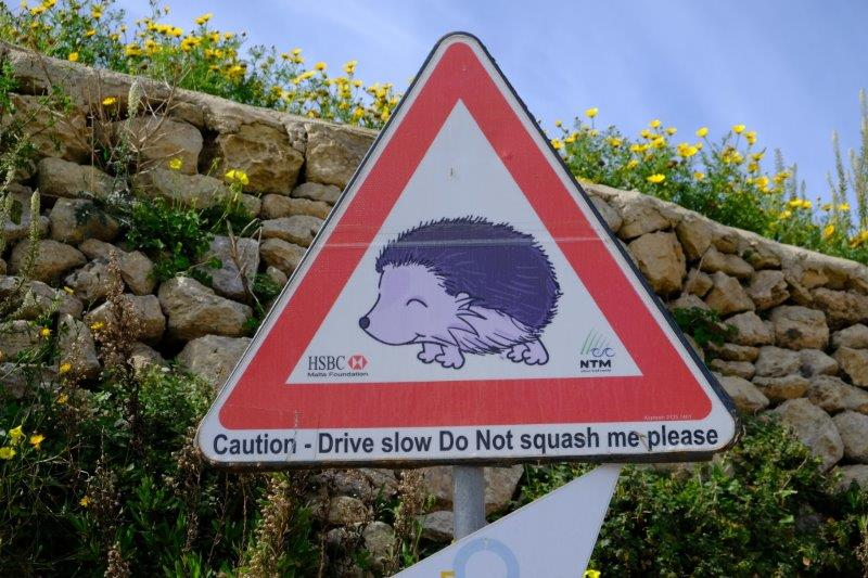 And road sign