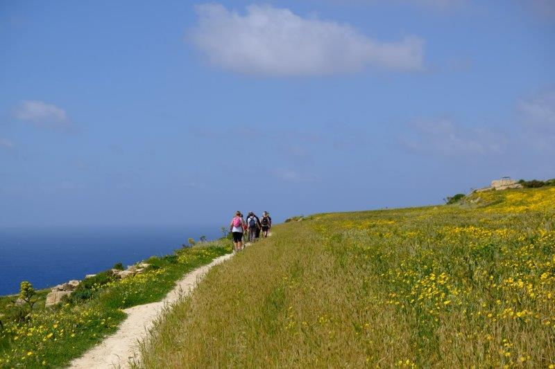 Paths on Gozo are in good condition