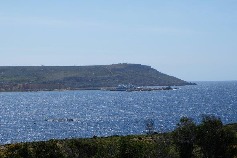 Now looking across to Malta
