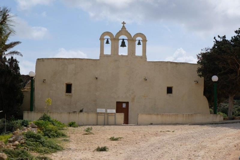Past the old church, the Chapel of our Lady's Return from Egypt