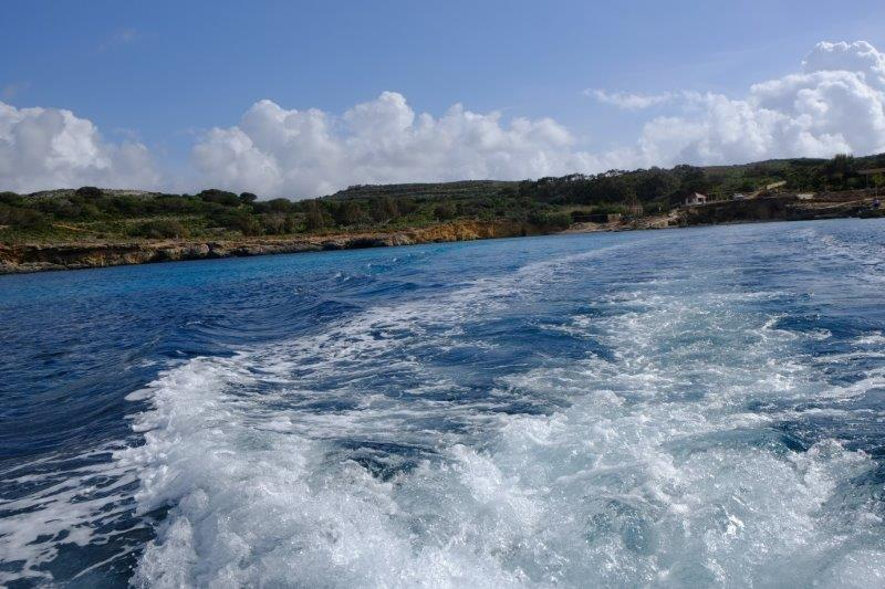 For an exhilarating ride back to Gozo