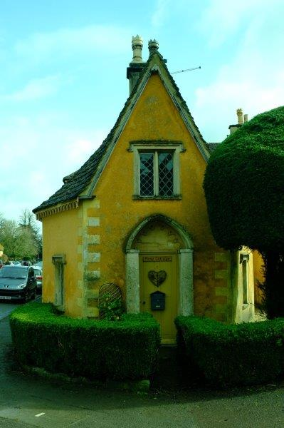 Called Pump Cottage - not sure why