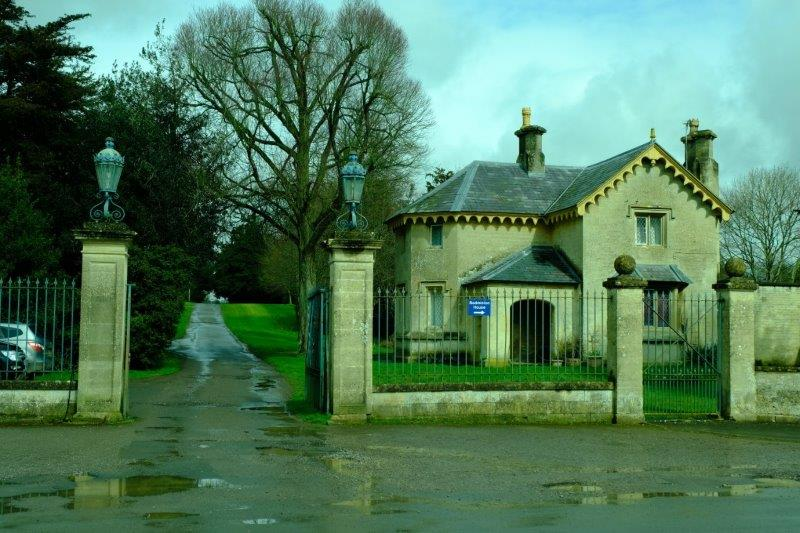 Entrance to Badminton House