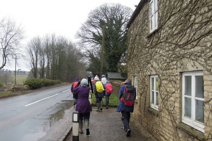 We set off from Foston's Ash