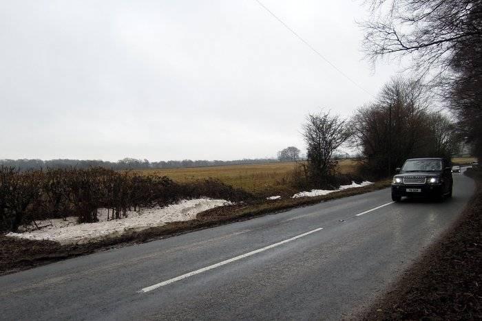 Snow has fallen