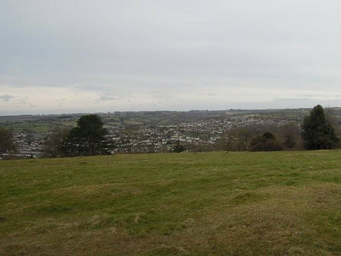 Views over Nailsworth and Forest Green