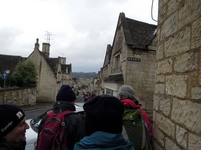 And we set off through Painswick
