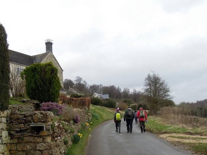 We head along Longridge
