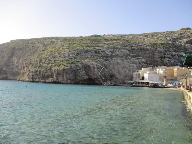 After settling into our hotel, some of us explore Xlendi