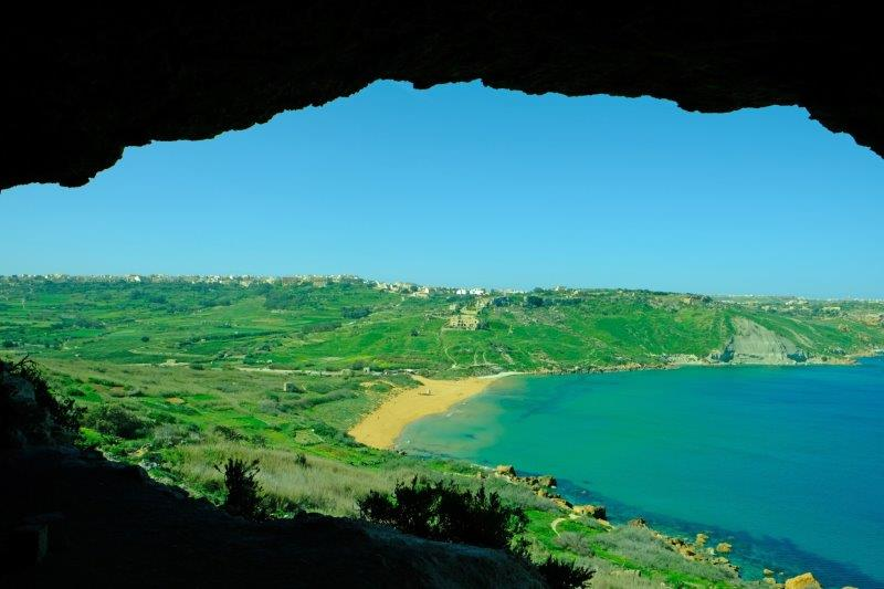 A view from the cave