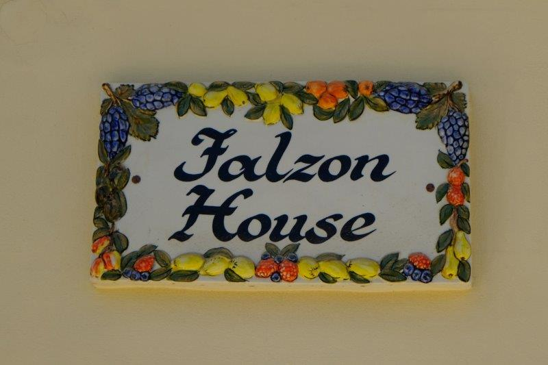 Colourful house name plate