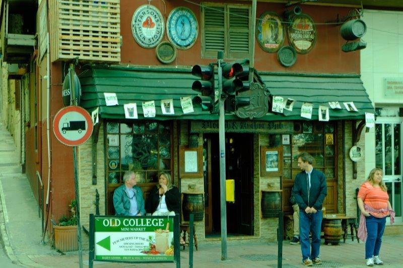 Irish pub the other side