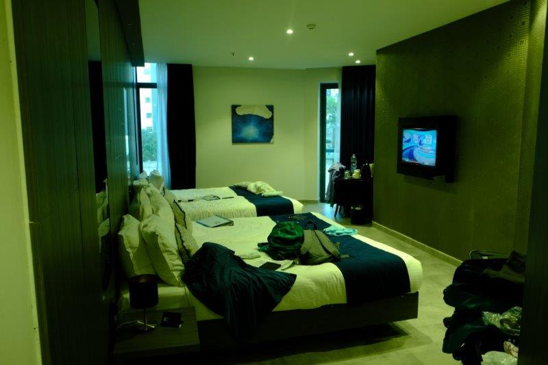 With rather smart rooms
