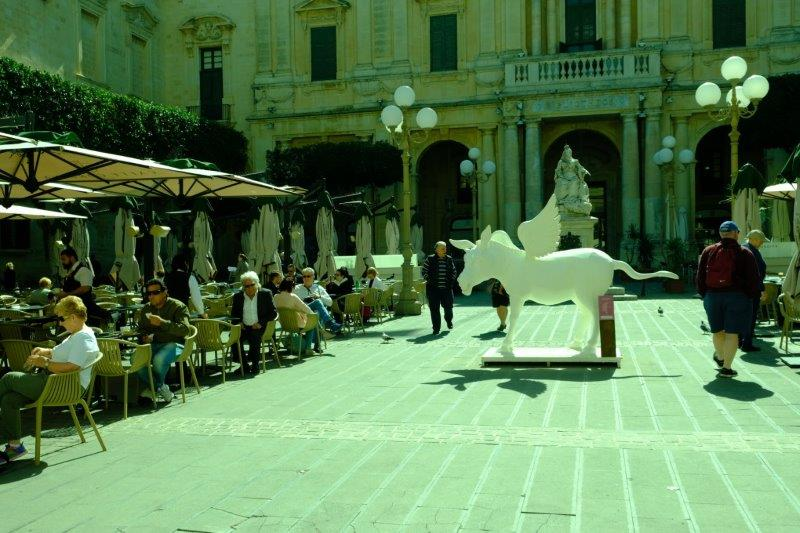 And another white statue