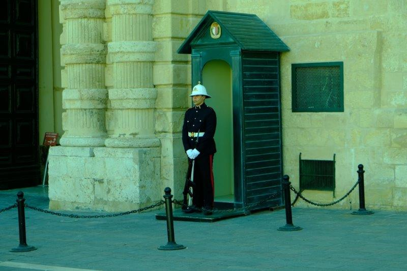 Outside the Grand Masters' Palace