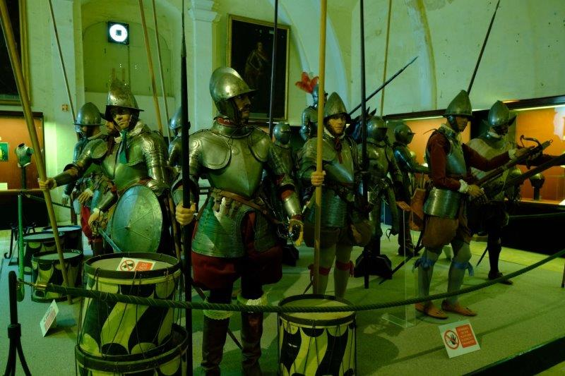 Into the Armoury