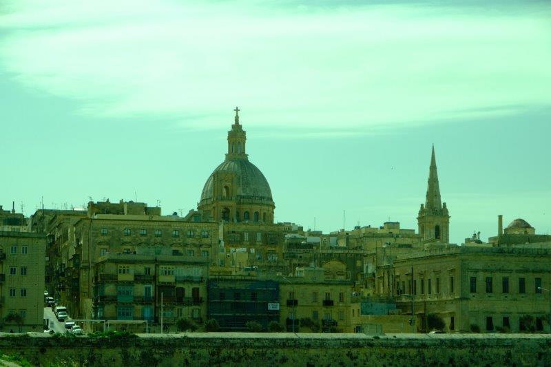 Skyline of Valletta