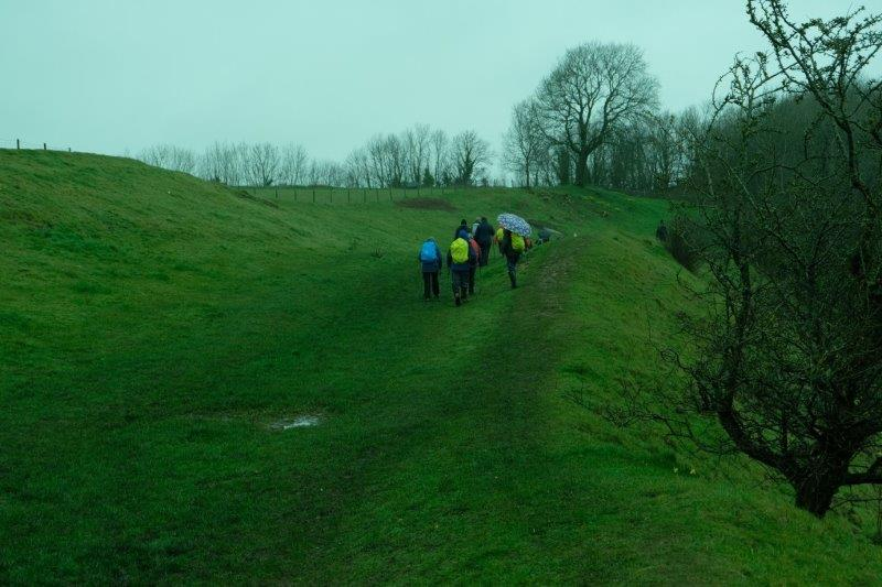 Walking round the Bury