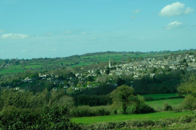 Now with Painswick on the horizon we head back to the start