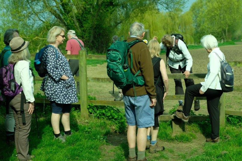 A stile to slow us down
