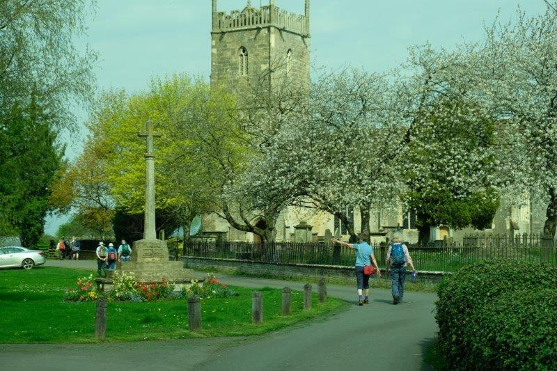 And on to Frampton Church