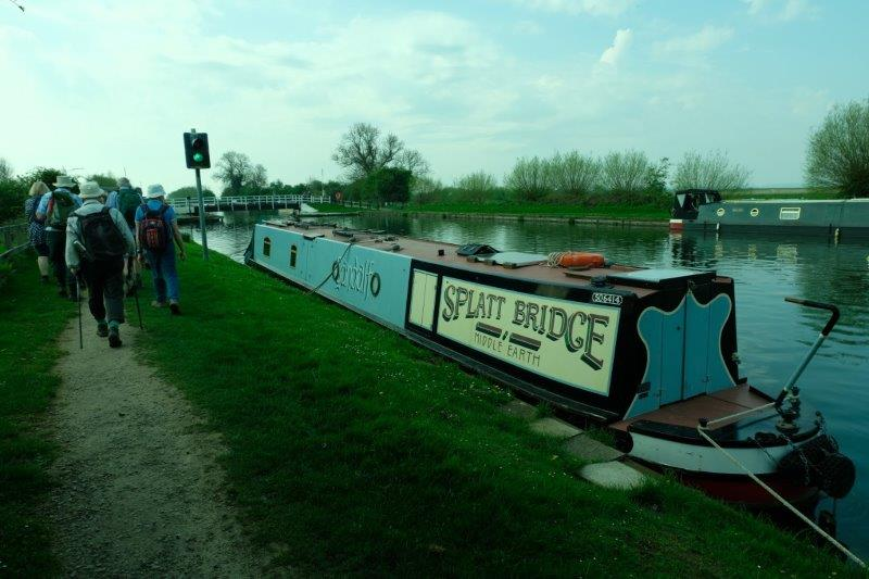 Then to the canal at Splatt Bridge