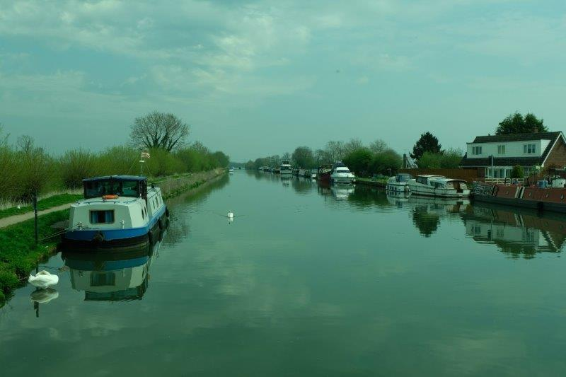Looking up the canal