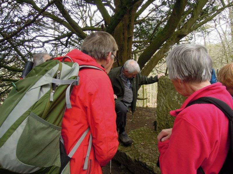 Jim might be explaining about Cromwell's Stone