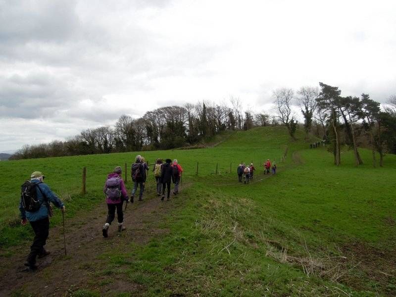 Passing an old long barrow