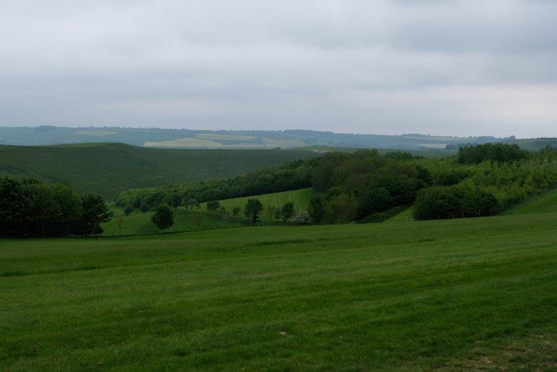 Chance to look at the rolling contryside
