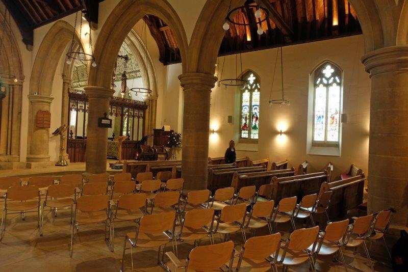 At Bourton Church