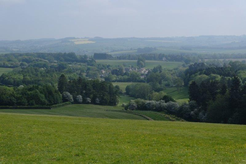 As we look down into the valley at Foxcote