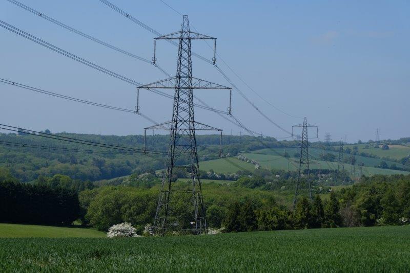 Pylons everywhere