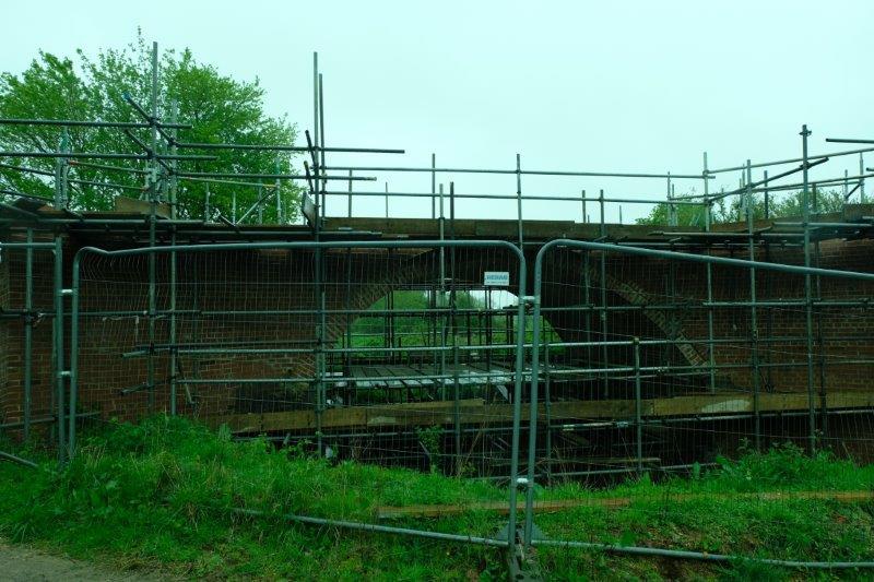 Weymoor Bridge project - replacing a bridge built in 1788