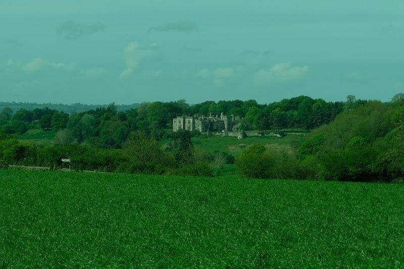 As we leave Bisley we look across at Lypiatt Park