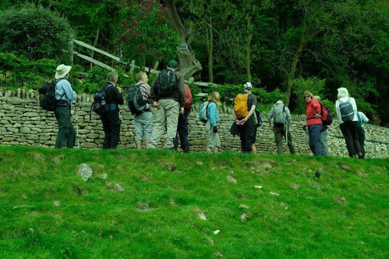 A break as we climb the hill