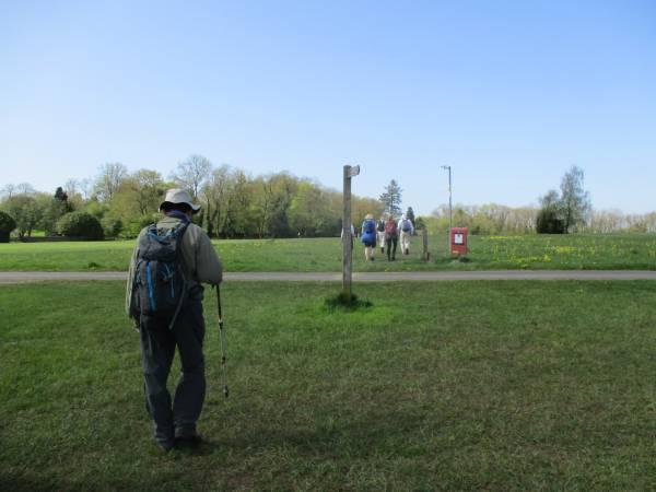 To cross Stinchcombe Golf course