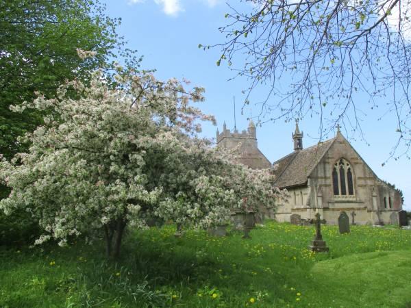 North Nibley church
