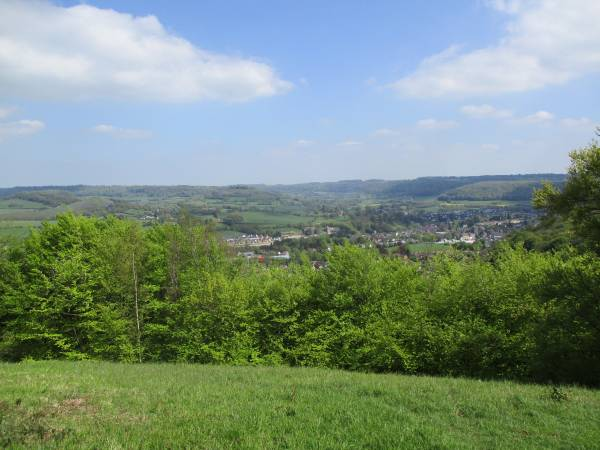 A good view over Dursley