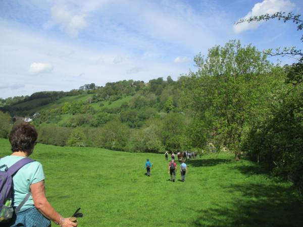 Descending to St. Mary's Mill at Chalford