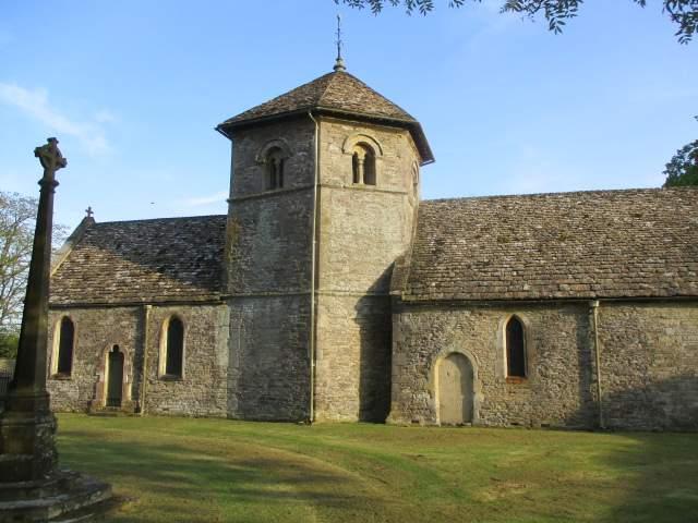 Ozleworth church
