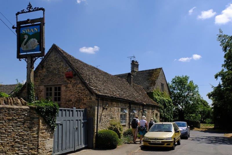 Past the pub