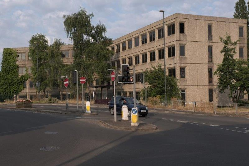 We pass Tricorn House - still there