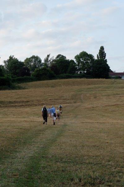 As we climb the Cotswold Way